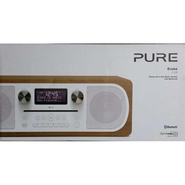 Pure Evoke C-D6 Radio CD DAB DAB+ UKW Bluetooth