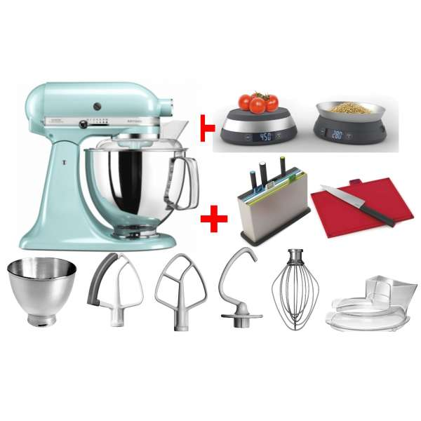 Kitchen Aid Artisan 5 KSM175PSEIC im Set