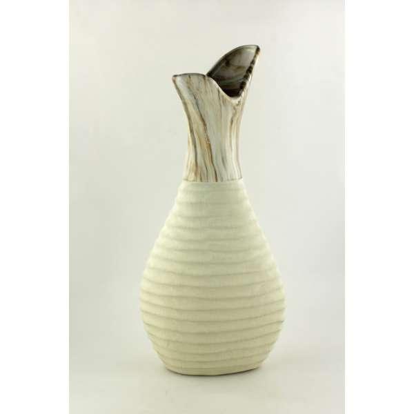 Goldbach Steingut Vase 18x40 cm