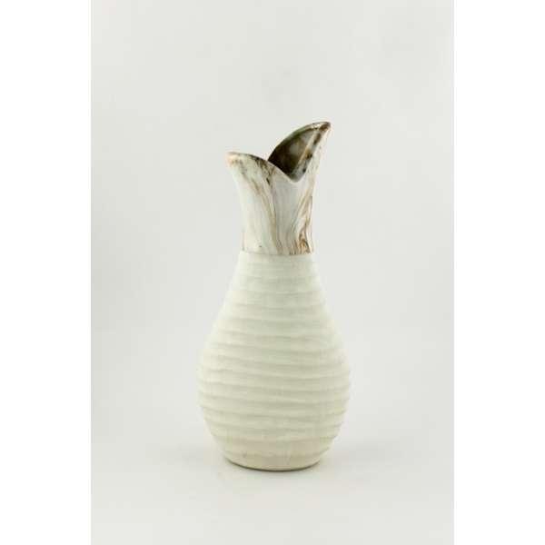 Goldbach Steingut Vase 14x30 cm