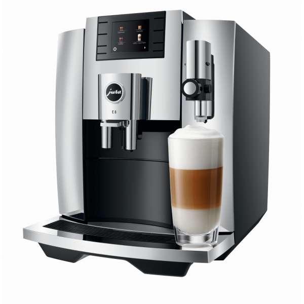 Jura E8 Kaffeevollautomat 15363 Chrom