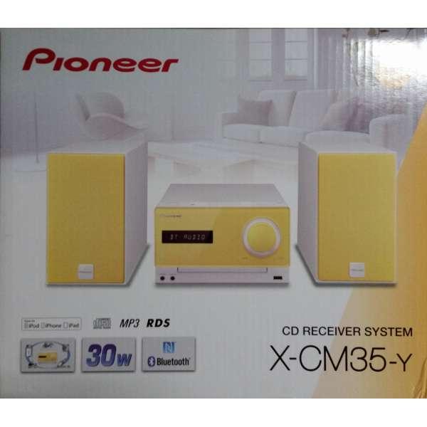 Pioneer X-CM35-Y gelb Anlage Micro CD UKW USB Bluetooth NFC