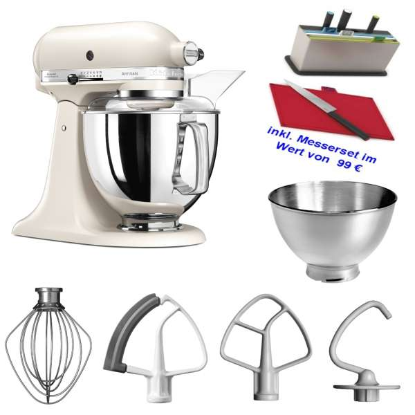 Kitchen Aid Artisan 5 KSM175PSELT im Set