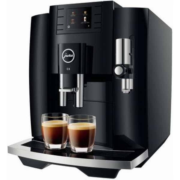 Jura E8 Kaffeevollautomat 15355 Piano Black, Neu vom Fachhändler