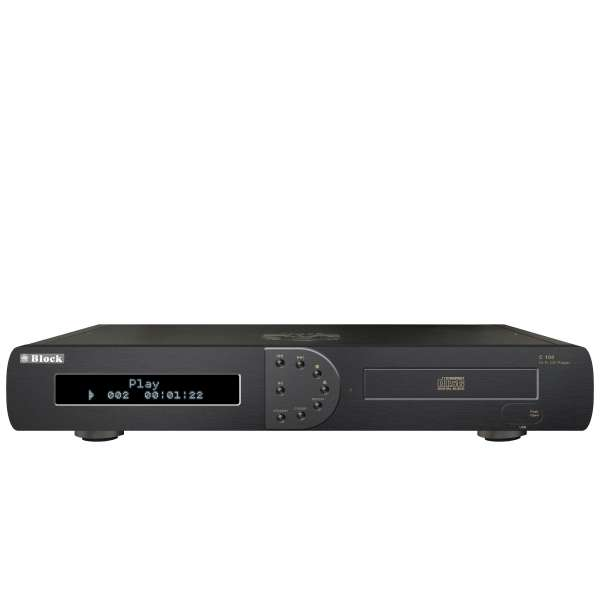 AudioBlock C-100 MKII CD-Player - Saphirschwarz