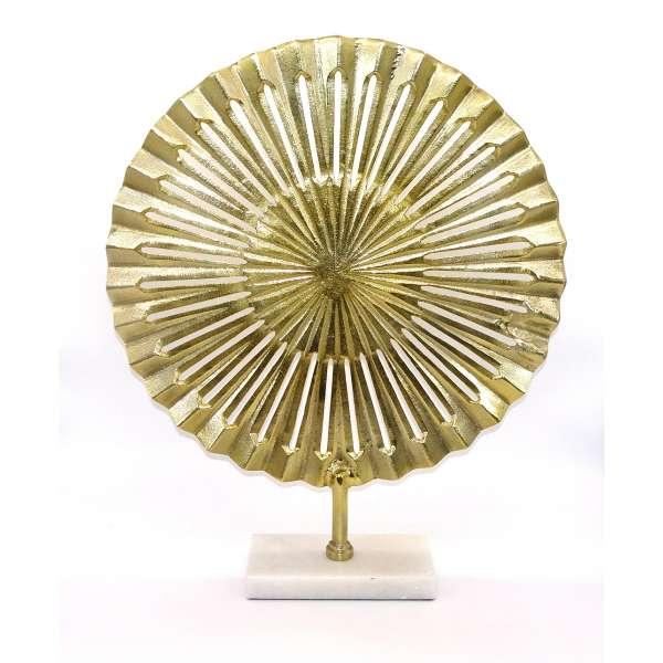 Goldene Skulptur aus dem Hause Cor Mulder