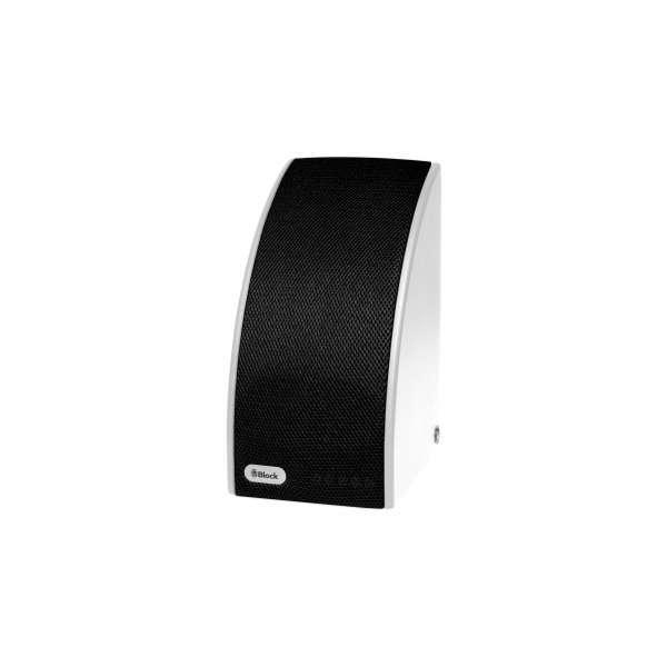 Audio Block SB 100 weiß/schwarz Multiroom Lautsprecher