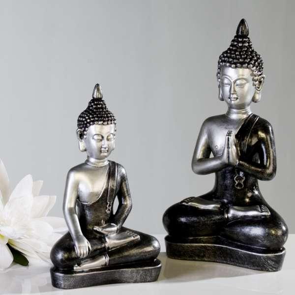 Casablanca Figur Meditierender Buddha 37 cm