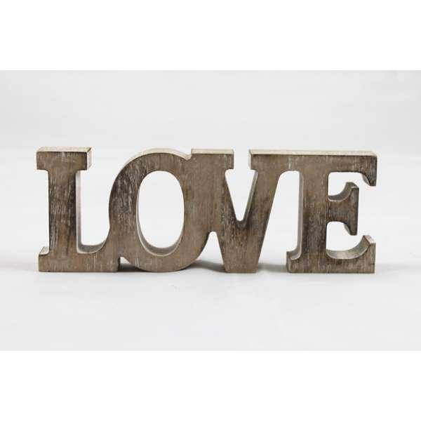 Goldbach Deko-Holzaufsteller Love