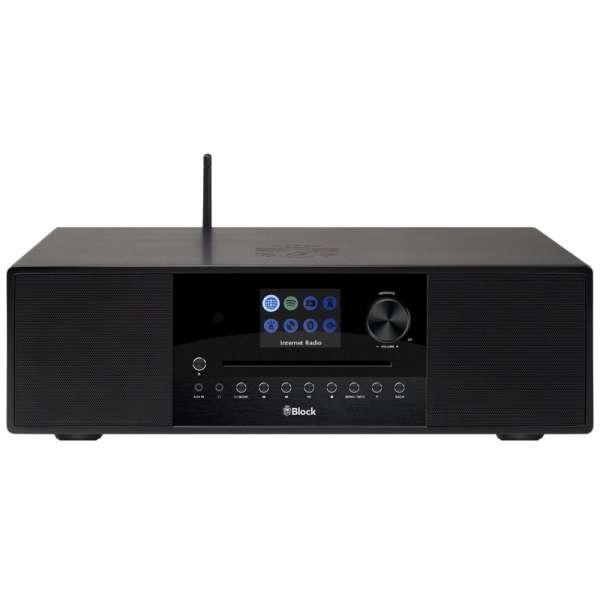 AudioBlock SR-100 Smartradio - Schwarz