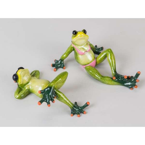 Formano Frosch im Urlaub hellgrün