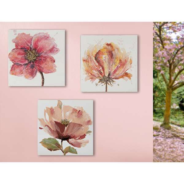 "Gilde Bild, Gemälde \""Blütengold \"" sortiert"