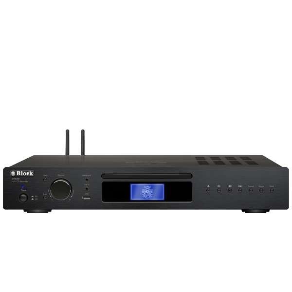 AudioBlock CVR-250 CD-Internet-Receiver - Saphirschwarz