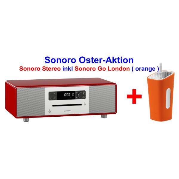 Sonoro sonoroSTEREO Aktion inkl. Go London orange