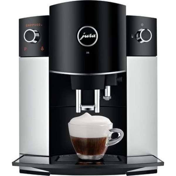 Jura D6 Platin Kaffeevollautomat, Neu vom Fachhändler