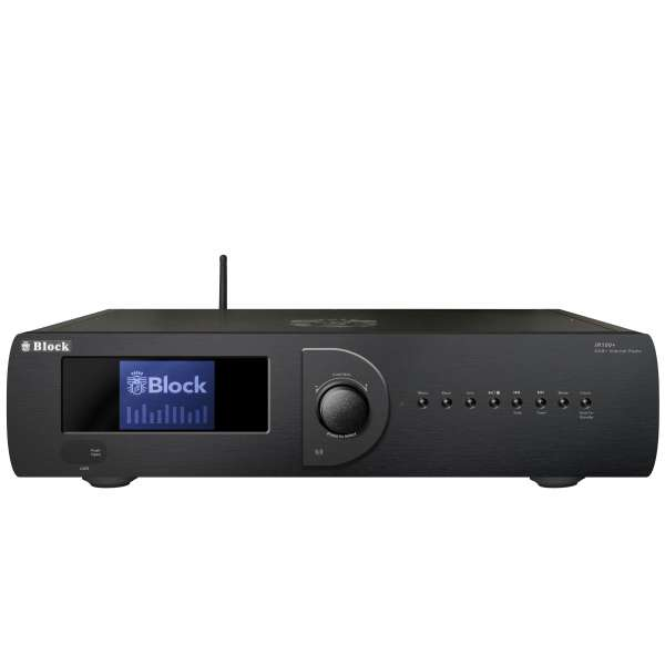 Audio Block IR-100+ MKII WLAN-Internet-Radio mit DAB+ schwarz