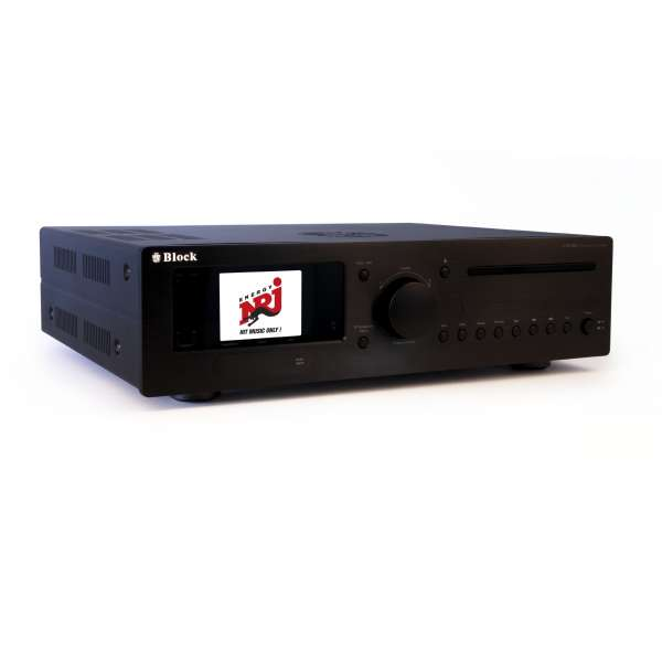 Audio Block CVR200 schwarz Multiroom/Receiver All-in-One Stereo BlueRay, Neu & Original vom Fachhand