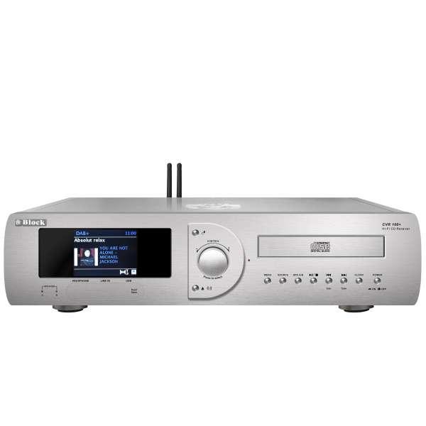 AudioBlock CVR-100+ MKII CD-Internet-Receiver - Diamantsilber
