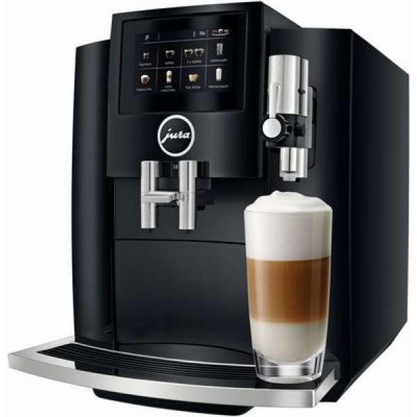 Jura S8 Kaffeevollautomat Piano Black, Neu vom Fachhändler