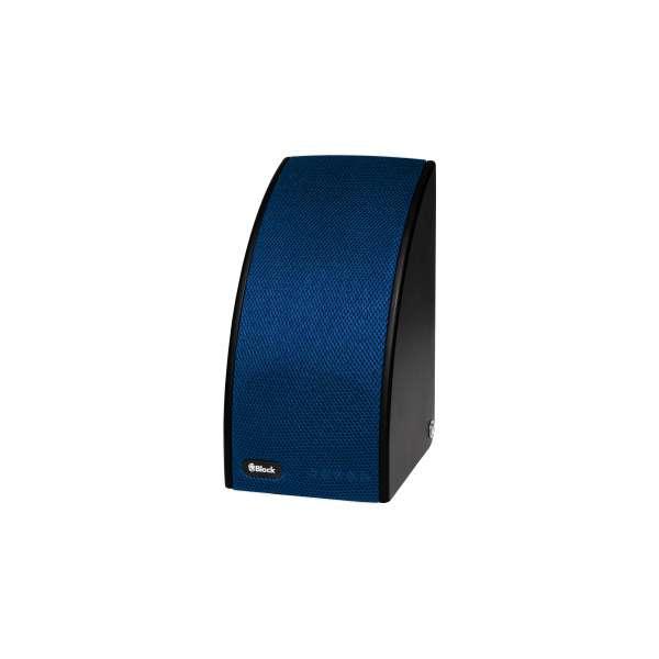 Audio Block SB 100 schwarz/blau Multiroom Lautsprecher