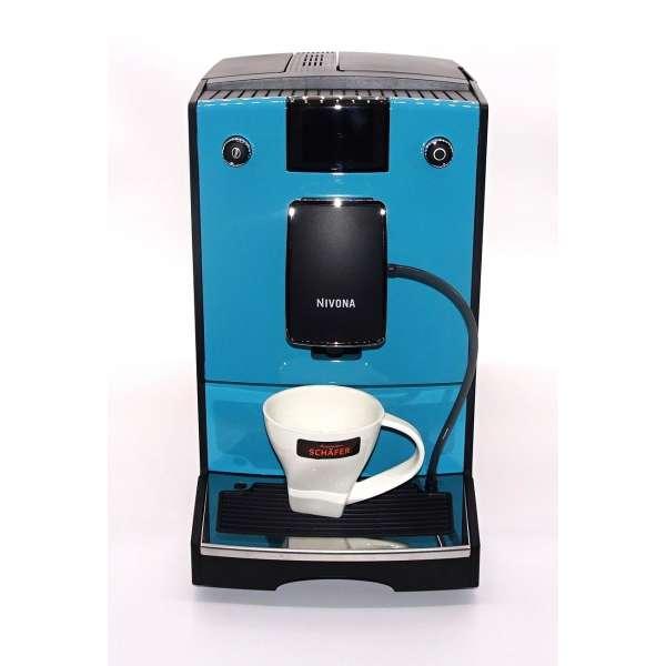 Nivona CafeRomatica 769 türkisblau RAL 5018 direkt vom Fachhandel
