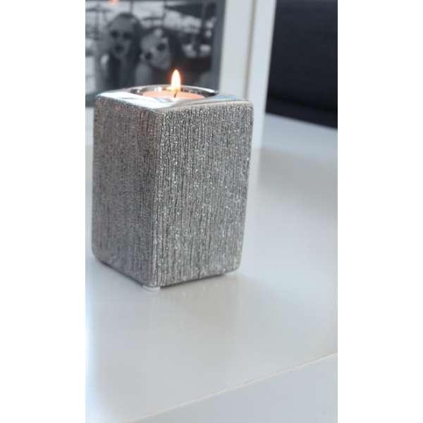 Gilde Keramik Teelichthalter Victory 11 cm