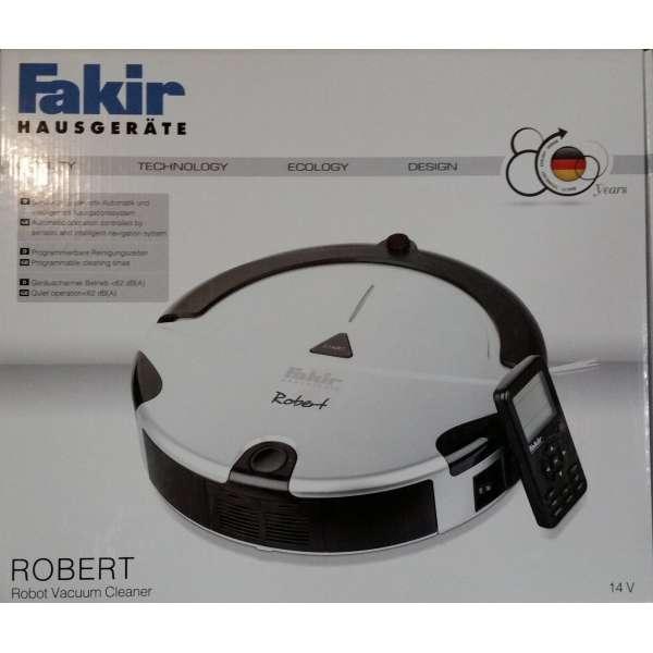 Fakir Saugroboter Robert RS 700 si sw Saugroboter 3-4 std Laufzeit