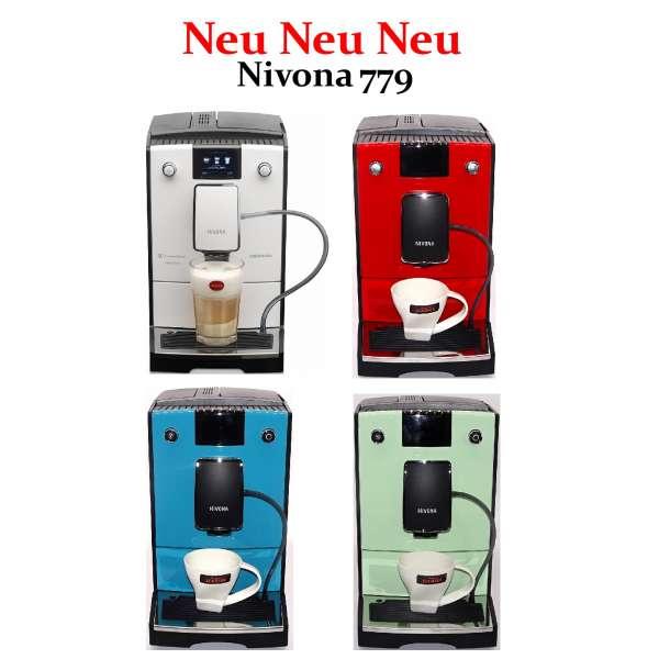 Nivona CafeRomatica 779 in vielen Farben und Variationen