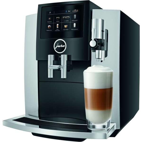 JURA S8 Moonlight Silver (EA) Kaffeevollautomat, Neu vom Fachhändler