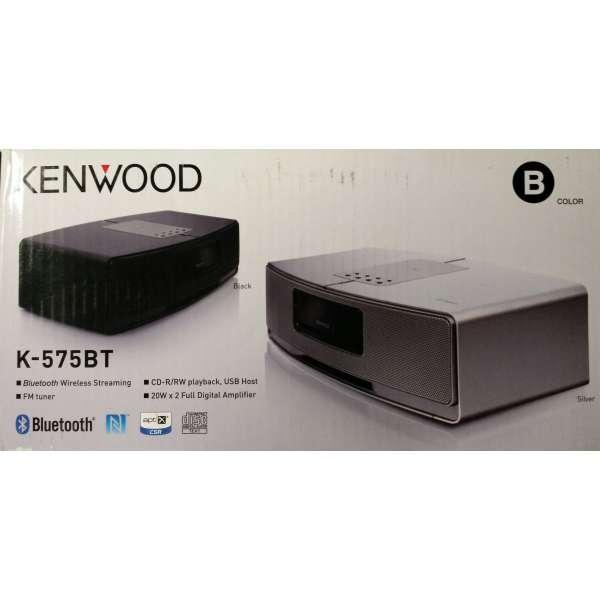 Kenwood K-575 BT-B schwarz Neu und Original vom Fachhändler