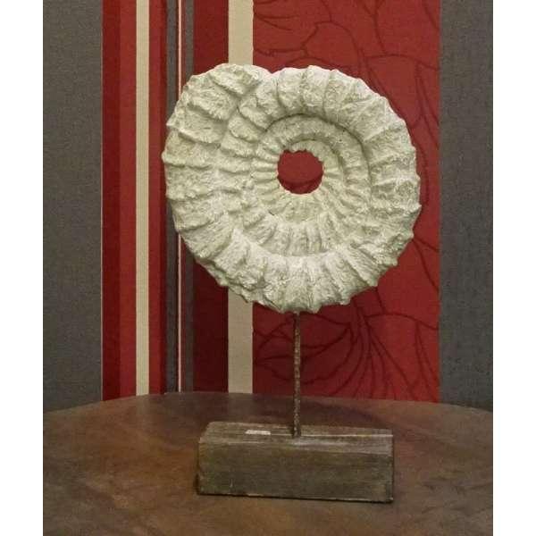 Cor Mulder künstlerische Skulptur Ammonshorn