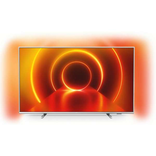 Philips TV (TP Vision) LED-Fernseher 70PUS7855/12 Hellsilber