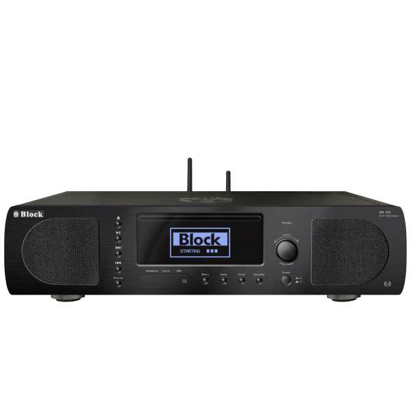 Audio Block BB-100 CD-Internet-Boombox schwarz