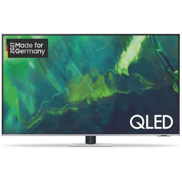 Samsung GQ55Q72AATXZG ti QLED-TV 4K WF Exkl. Q HDR OTS Lite