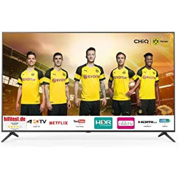 ChiQ U58G5500 Ultra-HD, HDR10, SMART Funktion, Neu & Original vom Fachhandel