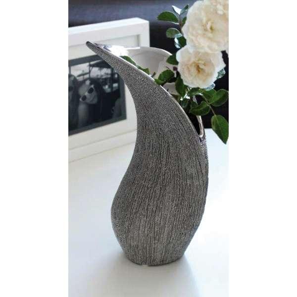 Gilde Keramik Schwungvase Victory 24 cm