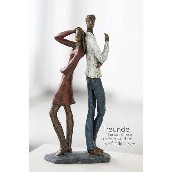 """Skulptur """"Contact"""" aus Poly"""