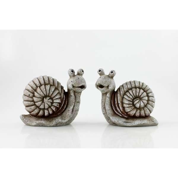 Goldbach Keramik-Schnecke 21x21 cm