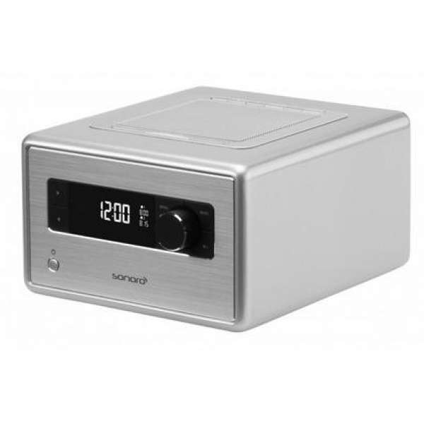 Sonoro Radio in Silber, Neu vom Fachhandel
