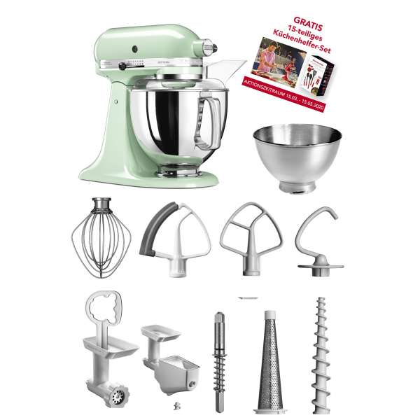 Kitchen Aid Artisan 5 KSM175PSEPT im Set