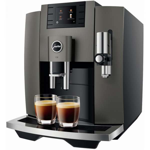 Jura E8 Kaffeevollautomat Dark Inox, Neu vom Fachhändler